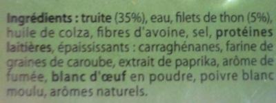 Rillettes de Truite - Ingrédients - fr