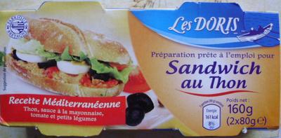 sandwich au thon recette m diterran enne m me code barre 26015958 que sandwich au thon. Black Bedroom Furniture Sets. Home Design Ideas