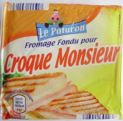 Fromage fondu pour croque monsieur - Produit - fr