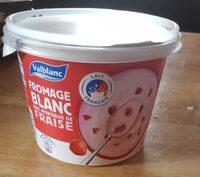 Fromage blanc avec morceaux de fraise - Product