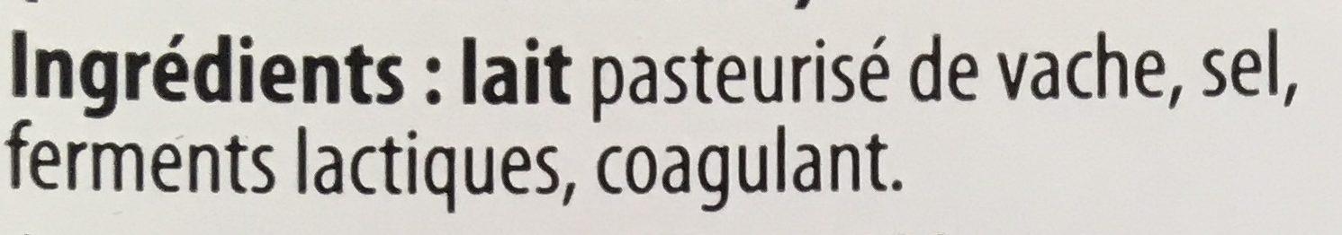 Maasdam tendre et moelleux - Ingrediënten