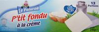 P'tit fondu à la crème (29,5 % MG) 12 Portions - Produit - fr