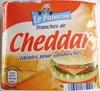 Tranches de Cheddar (23 % MG) 10 tranches - Produit
