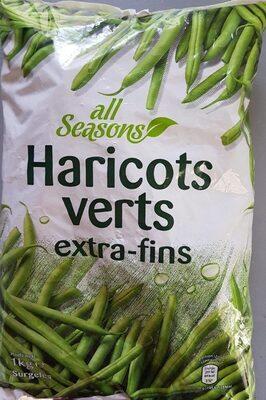 Haricots Verts Extra Fins surgelés - Prodotto - fr