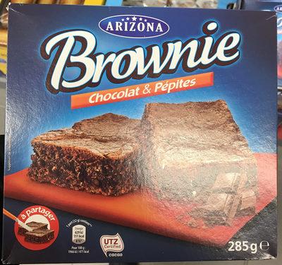 Brownie Chocolat & Pépites - Product - fr