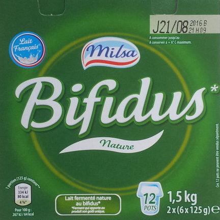 Bifidus nature - Produit - fr