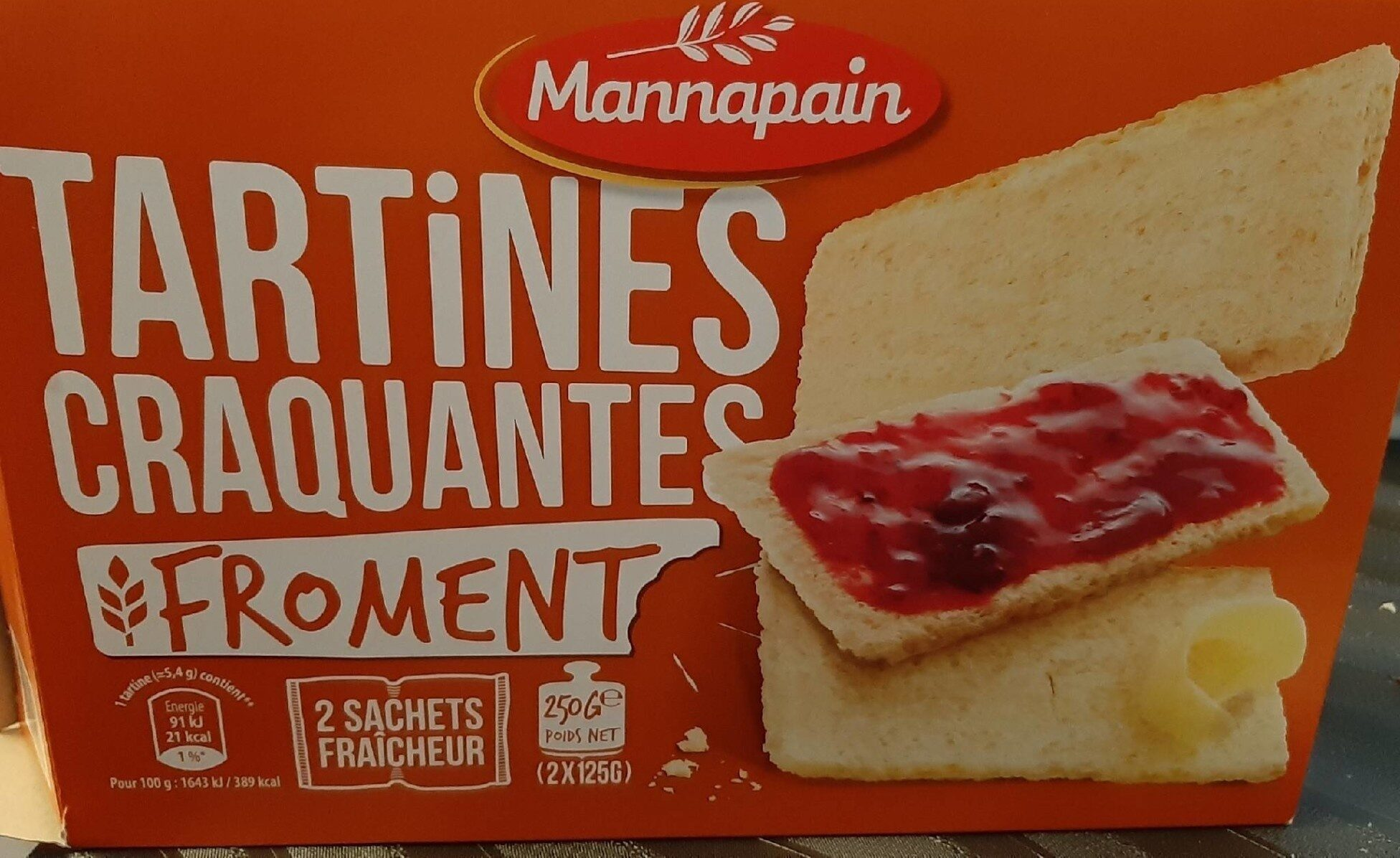 Tartines craquantes Froment - Product - fr