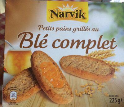 Petits pains grillés au blé complet - Product - fr
