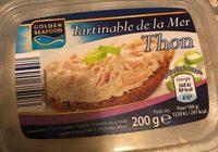 Tartinable de la mer, saumon fumé - Produit