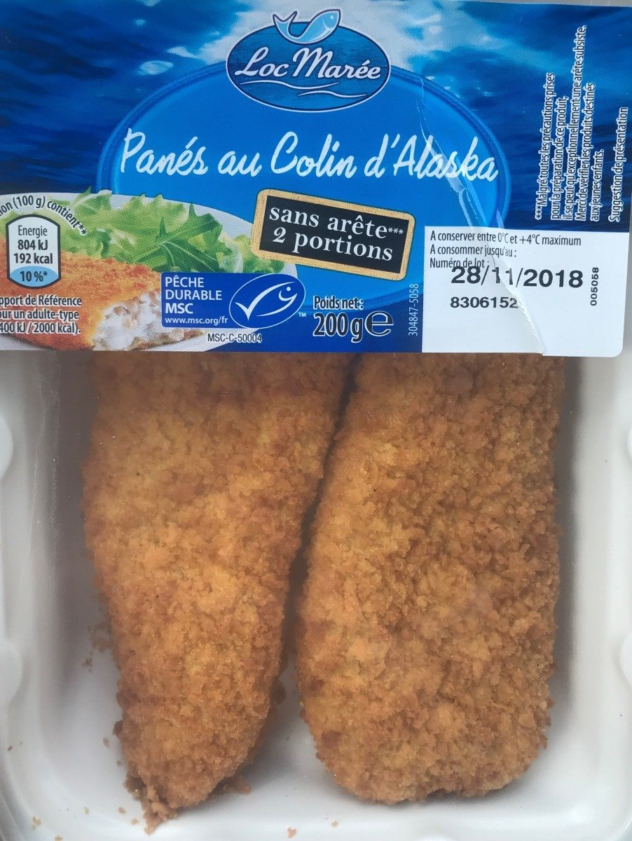 Panés au Colin d'Alaska - Produit