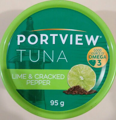 Lime & Cracked Pepper Tuna - Product