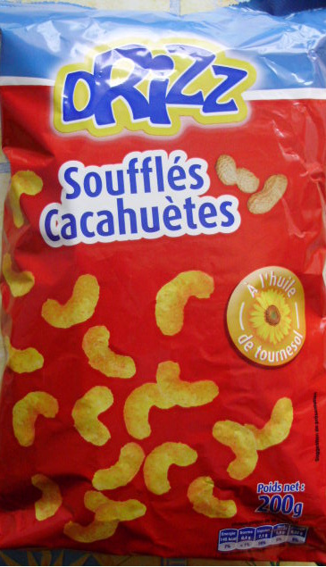 Soufflés Cacahuètes - Product
