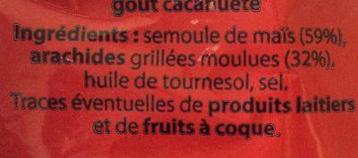 Soufflés Cacahuètes - Ingrediënten