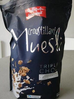 Croustillant Muesli Triple Choco - Produit - fr