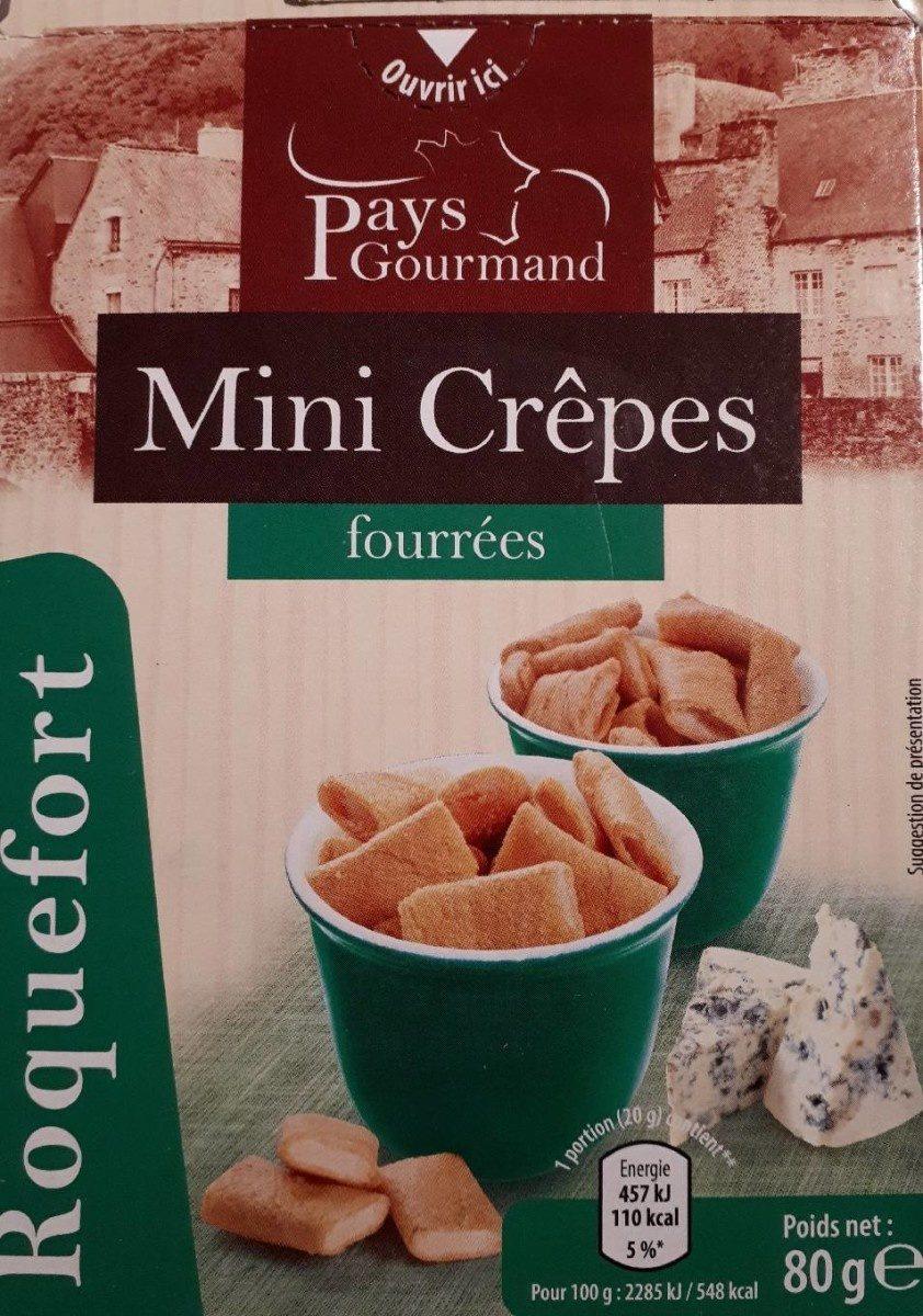 Mini crêpes fourrées - Product