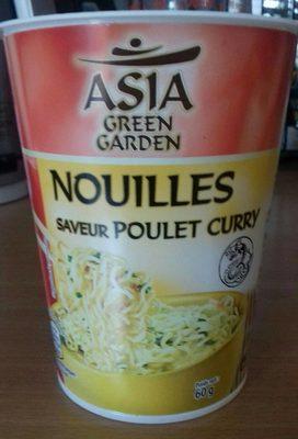 Nouilles saveur poulet curry - Produit
