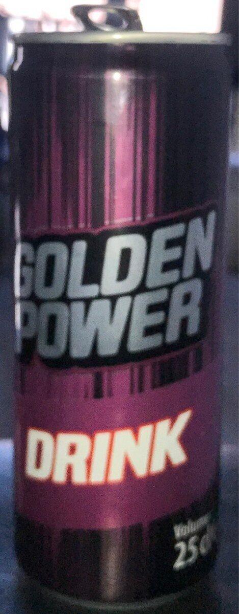 golden power drink - Produit - fr