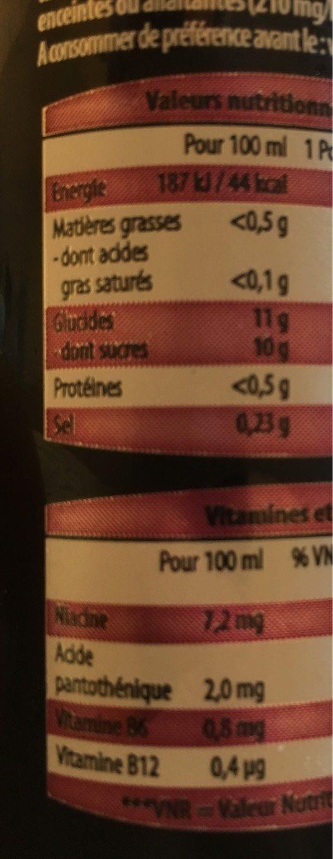 golden power drink - Informations nutritionnelles - fr
