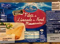 Filet de limande du nord facon meuniere - Produit