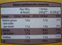 Purée à l'Ancienne - Informations nutritionnelles - fr