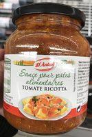 Sauce pour pâtes alimentaires Tomate Ricotta - Produit