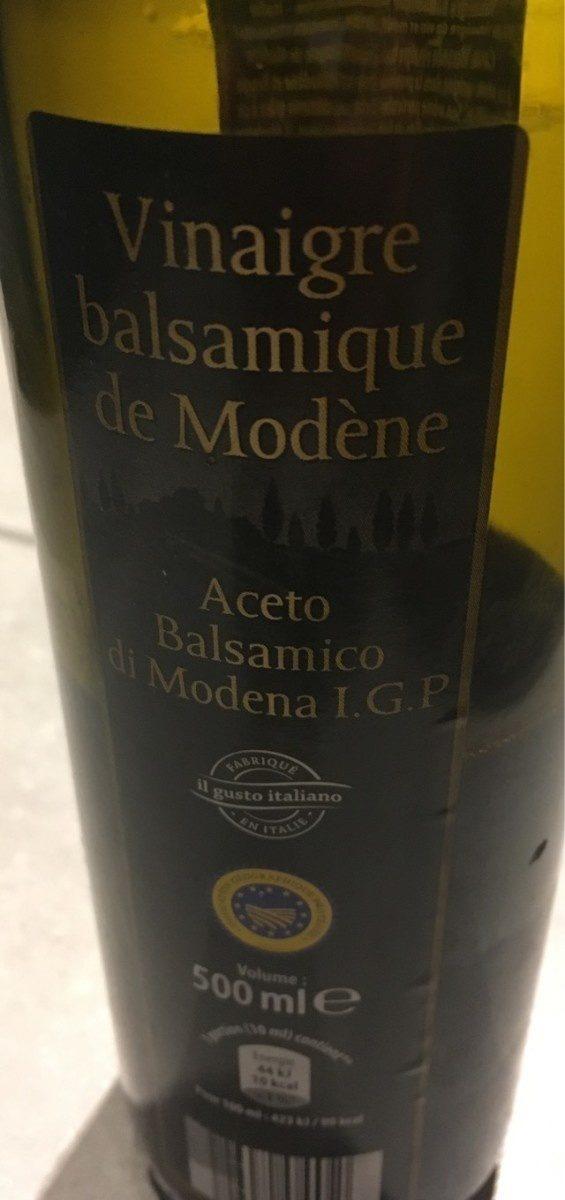 Vinaigre basalmique de modene - Produit - fr