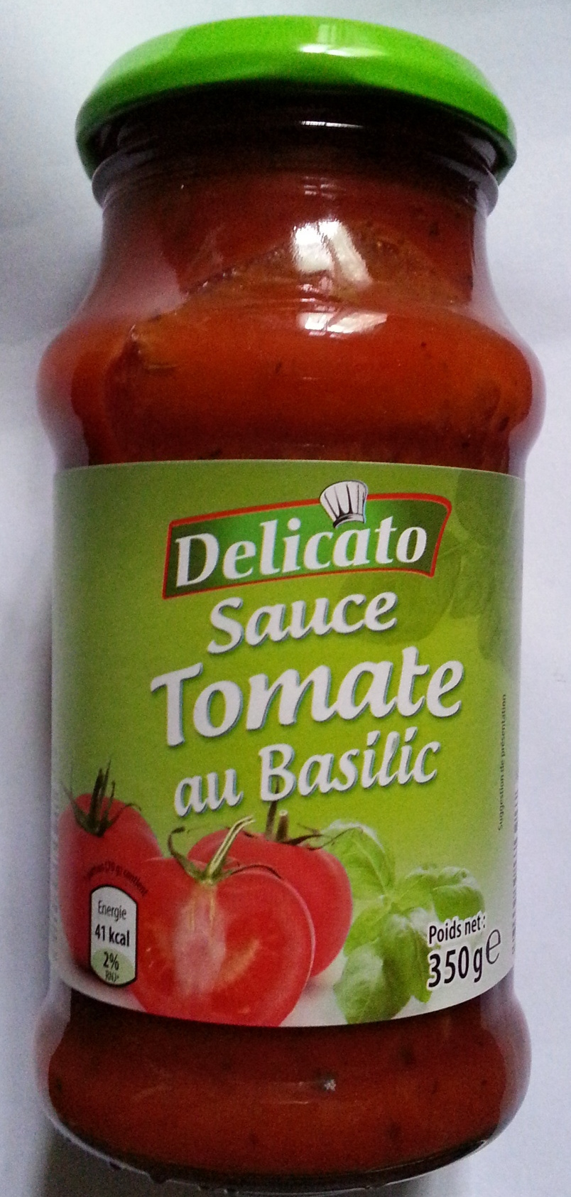 Sauce tomate au basilic - Product - fr