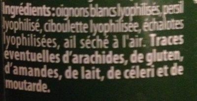 Assaisonnement pour salade - Ingrediënten - fr