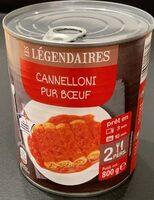 Cannelloni pur boeuf - Produit - fr