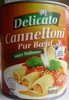 Cannelloni Pur Bœuf (Sauce Italienne) - Product