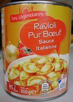 Ravioli Pur Bœuf, Sauce Italienne - Produit