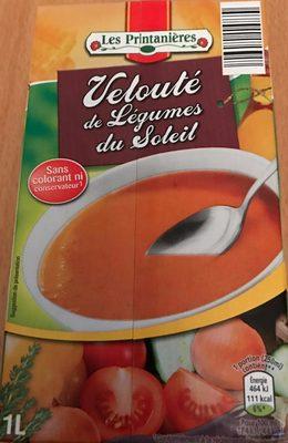 Velouté de légumes au fromage fondu - Produit