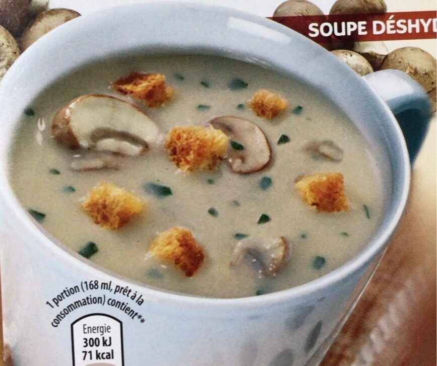 Veloute aux champignons - Produit - fr