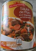 Saute de porc - Produit
