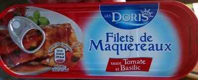 Filets de Maquereaux (à la sauce Tomate et au Basilic) - Product