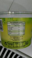 Fromage frais nature - Nutrition facts