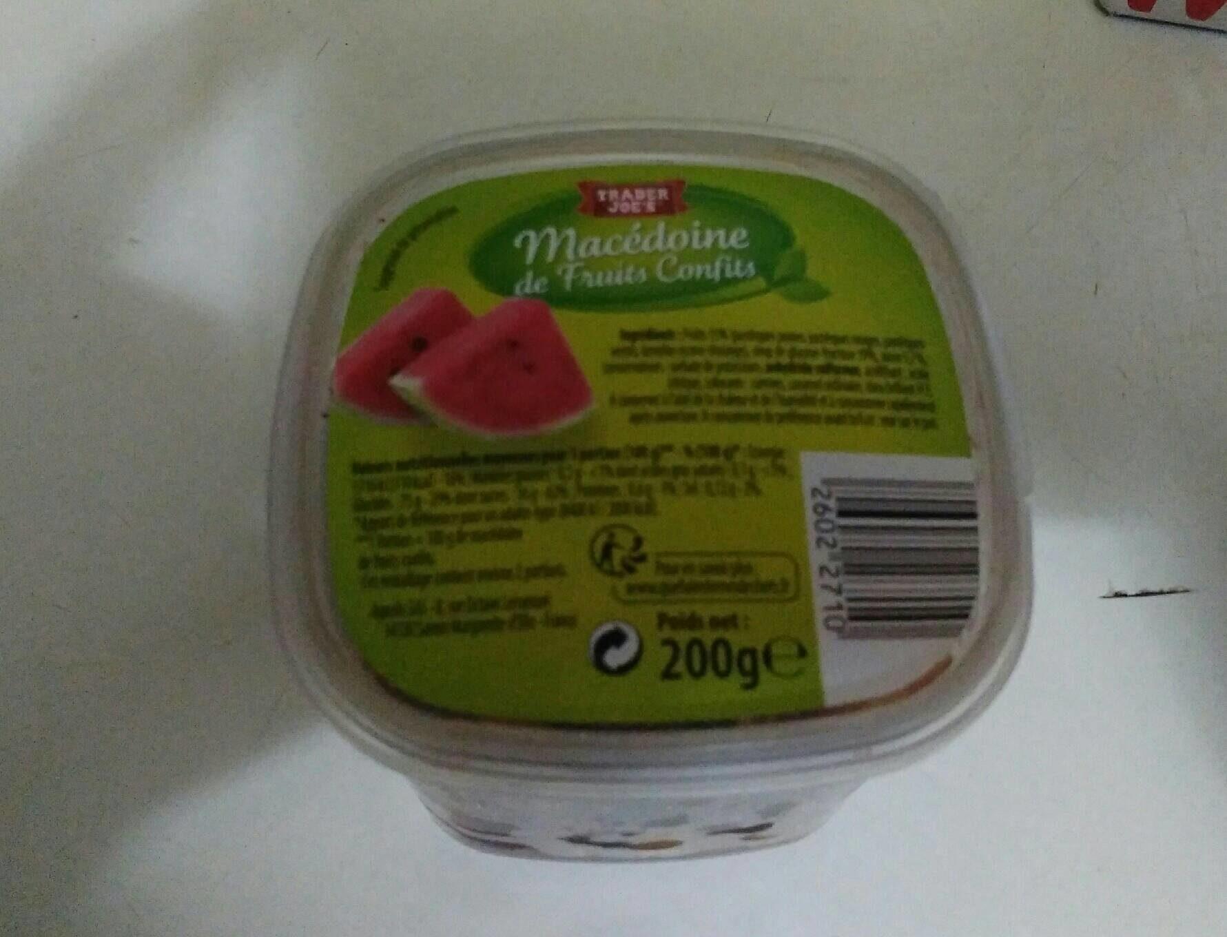 Macédoine de fruits confis - Product