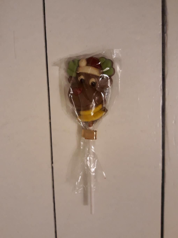 Sucette en chocolat décorée - Produit - fr