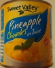 Pineapple Chunks in Juice - Product