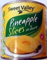 Sweet Valley Pineapple Slices in Juice - Product - en