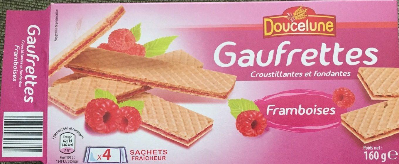 Gaufrettes framboises - Product - fr