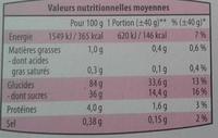 Gaufrettes framboises - Nutrition facts - fr