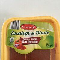 Escalope de dinde tomate saveur barbecue - Produit - en
