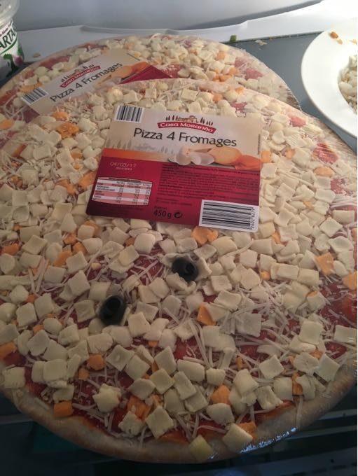 Pizza 4 fomages - Producte - fr