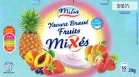 Yaourt brassé fruits mixés 16 pots - Product