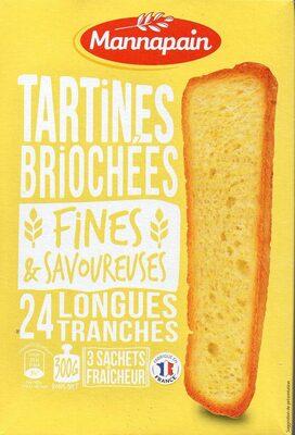 Tartines briochées Fines et savoureuses - Product - fr