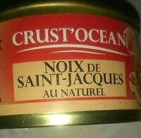 Noix de sait Jacques au naturel - Product