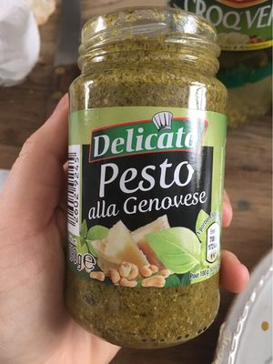 Pesto alla Genovese - Informations nutritionnelles