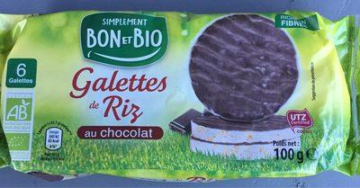 Galettes de Riz au chocolat - Product - fr