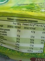 Galettes de Riz au chocolat - Nutrition facts